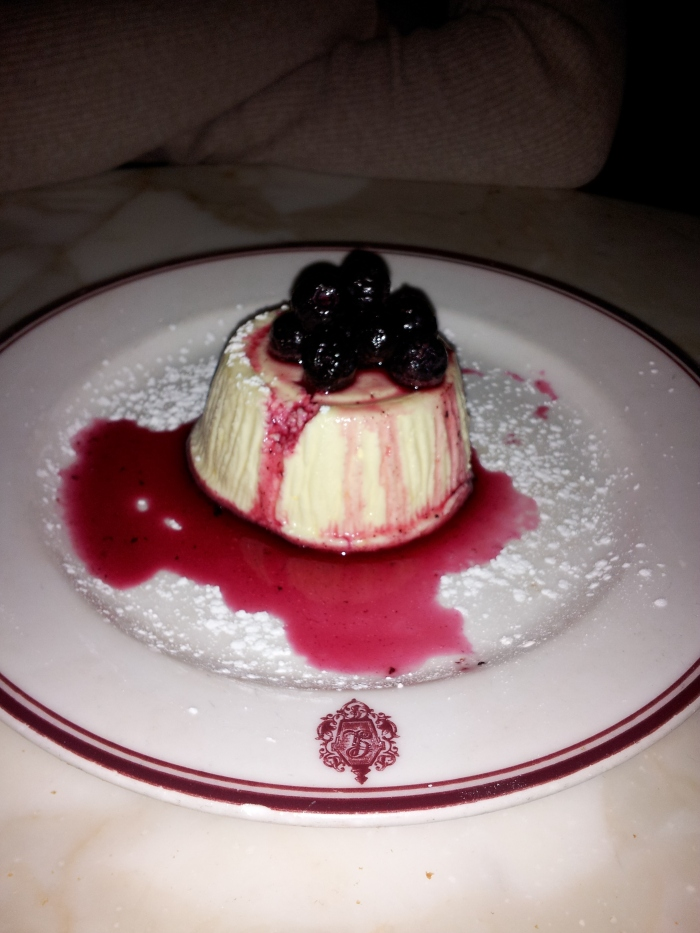 lemon dessert at gaslight