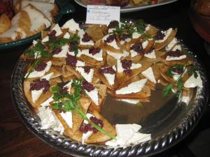 Med. Triangles aka Greek Nachos