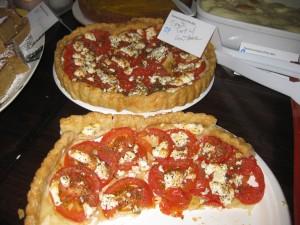 Tomato Tart w Goat Cheese