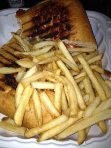 Sad Portabello Sandwich